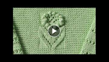 Knitting Design (Hindi)| Knit Lacy sweater Pattern