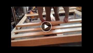 Queen Size Bed Frame DIY