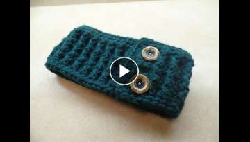 CROCHET How to #Crochet Ribbed Ear Warmer Headband #TUTORIAL #275 LEARN CROCHET