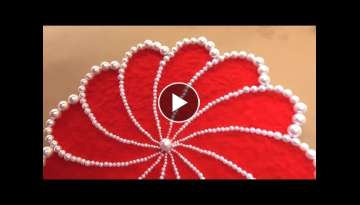 DIY Woolen craft || Handmade Wall Decoration Idea Using Woolen || Room Decor