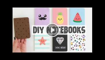 7 DIY NOTEBOOKS IDEAS - School Supplies You NEED To Try!