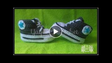 Converse a crochet super facil