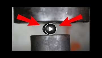 Experiment The Mighty Bearing Ball Vs 200 Ton Hydraulic Press The Crusher Show
