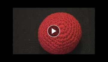How to Make a Crochet Ball Tutorial - Amigurumi Extended Slow Motion English Subtitles Translatio...