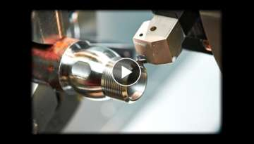 Perfect product manufactured on CNC lathe - CNC technology