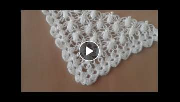 crochet chal shawl with subtitles in several lenguage