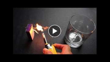 AWESOME IDEA with Pen and Matches