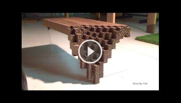 Falling Brick Coffee Table