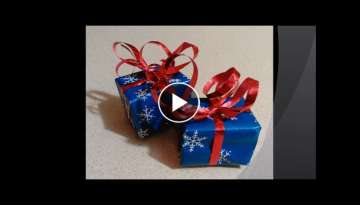DIY - How to Make a Gift Box Ornament/Decoration - Gimli