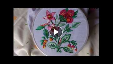 Hand embroidery designs embroidery for sarees and dresses