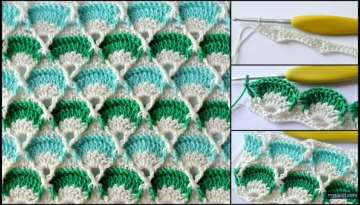 Crochet Work Square Motif Making | Motif Models And Its Construction