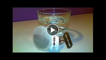 DIY: Boiling Water Prison Style (using razor blades)