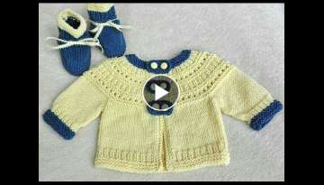 Handmade Woolen Sweater for Children || Knitting Pattern || EASY KNITTING DESIGN