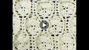 Crochet: Punto en Relieve - YouTube