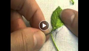Fly Stitch Leaf (Closed)