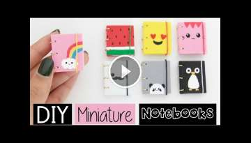 DIY MINI NOTEBOOKS - Four Easy & Cute Designs!