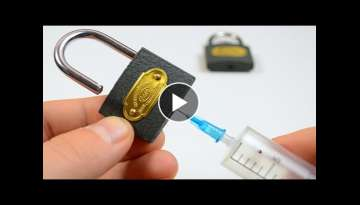 3 EXPERIMENT Ways to Open a Lock