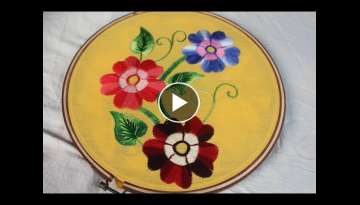 Hand Embroidery Designs | Fantasy embroidery | Stitch and Flower