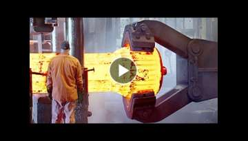 HYPNOTIC Video Inside Extreme Forging Factory: Kihlbergs Stal AB Hammer Forging